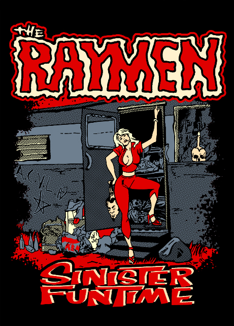 The Raymen Sinister Funtime T-Shirt